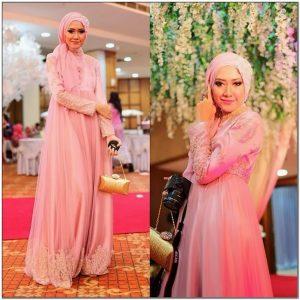 Koleksi Style busana hijab untuk pesta