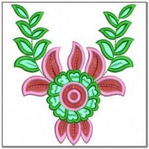 Desain Bordir Bunga Matahari Yang Cantik