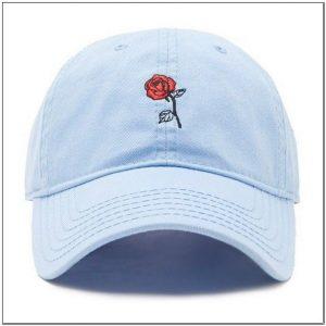 Desain gambar Bunga Untuk topi