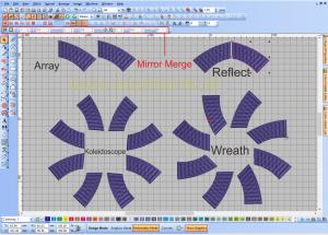 Panduan Teknik Untuk Membuat Desain Agar Simetris Pada Wilcom Bordir Komputer