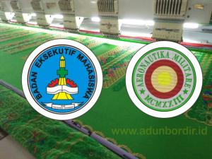 Tempat Pesan Bordir Logo Dengan Custom Design