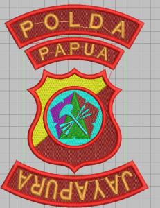 Contoh Desain Logo Polda Papua