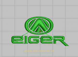 Desain Bordir Untuk Logo Eiger
