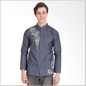 Contoh Pola motif bordir pada baju koko