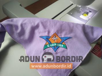 Bordir Logo Langsung Pada Pakaian Tasikmalaya
