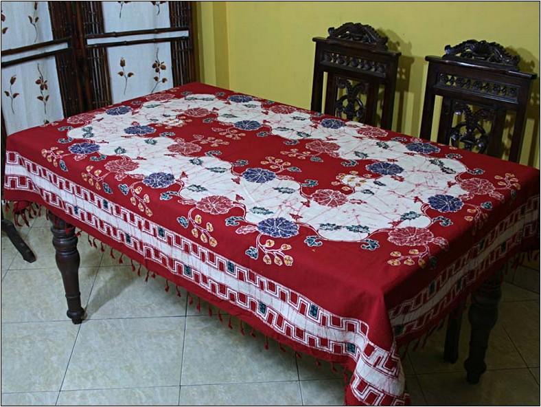 Motif batik untuk pinggiran taplak meja