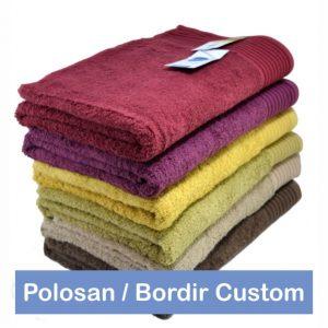 Jual Handuk Anak Ukuran 50 x 100 Polosan dan Bordir Custom