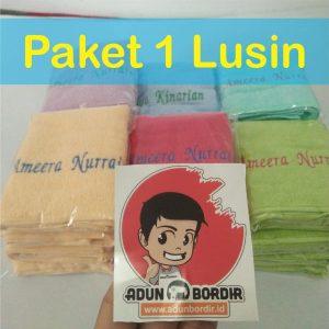 Jual Handuk Merah Putih 1 Lusin Paketan Bandung