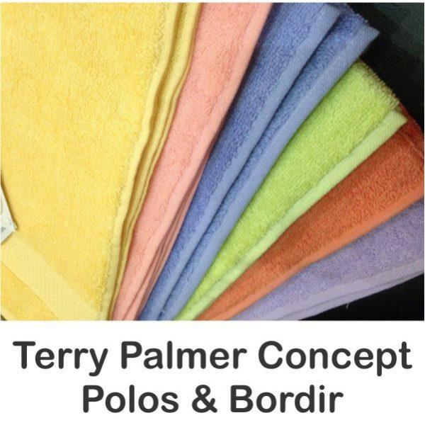 Jual Handuk Terry Palmer Concept Polos dan Bordir Grosir Murah