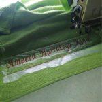 Jasa Pembuatan Bordir Nama Berbeda di Handuk Custom Murah