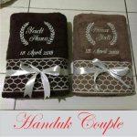 Jual Handuk Couple Bordir Nama Satuan Jakarta