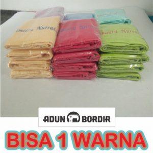 Jual Souvenir Handuk Bordir Custom Bisa Satu Warna