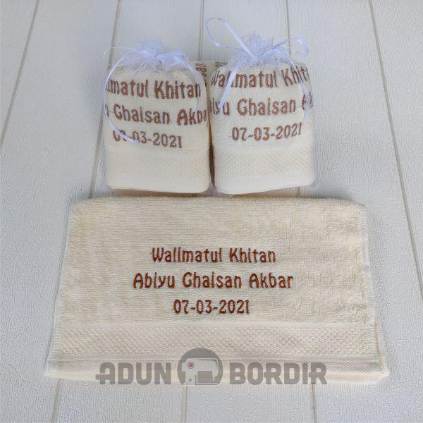 Toko Souvenir Handuk Bordir Custom Nama
