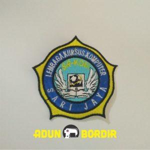 Jasa Custom Logo Bordir Riau Lembaga Kursus Komputer Harga Murah