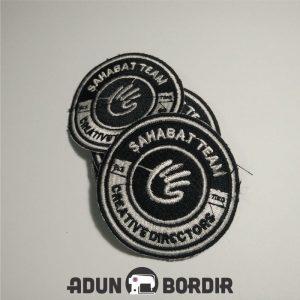 Jasa Buat Emblem Bordir Custom Harga Murah