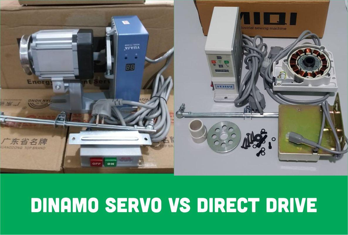 Perbedaan Dinamo Servo dan Direct Drive