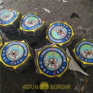 Jasa Pembuatan Emblem Bordir Custom
